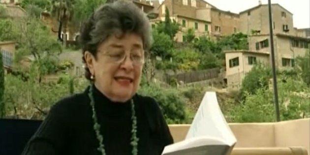 La poetisa Claribel Alegría en un fotograma del documental 'Soportar el paraíso'