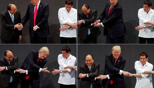 A Trump se le