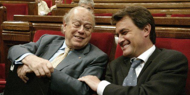 Jordi Pujol y Artur Mas en una imagen de