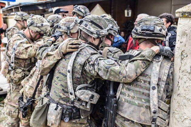 Ejercicio 'Swift Response17' de la Brigada Almogávares, el pasado 17 de
