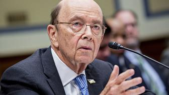 Wilbur Ross, U.S. commerce secretary, speaks during a House Oversight Committee hearing in Washington, D.C., U.S., on Thursday, March 14, 2019. A main topic of the hearing is to be allegations by committee Democrats that Ross has given misleading testimony on multiple occasions to Congress about the citizenship question to the 2020 Census. Photographer: Andrew Harrer/Bloomberg via Getty Images