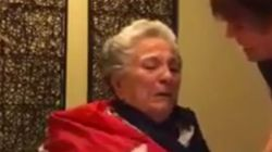 El vídeo de una anciana con alzhéimer llorando con la muerte de Castro enloquece las