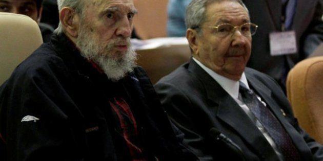 Fidel Castro reaparece en la Asamblea Nacional de Cuba para la reelección del presidente
