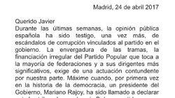 El tenso cruce de cartas entre Sánchez y Fernández por la corrupción del