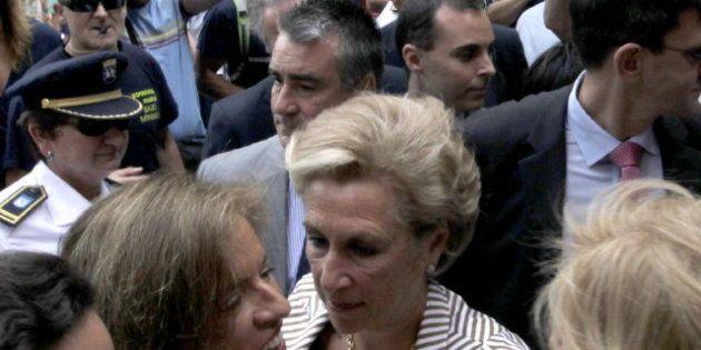 Ana Botella, abucheada en Madrid durante la celebración de las fiestas de La Paloma