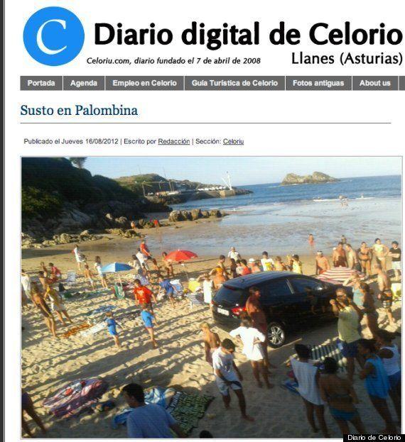 Accidente de coche de Carmen Lomana: atropellada por su propio vehículo, que acaba en la playa (FOTO,