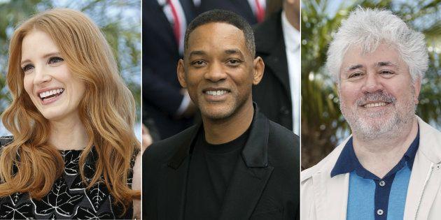 Jessica Chastain y Will Smith serán miembros del jurado de Cannnes 2017 presidido por Pedro