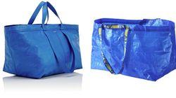 Ikea bromea con el parecido entre su bolsa Frakta y este bolso de