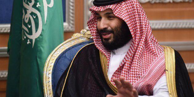 Imagen de archivo del príncipe heredero de Arabia Saudí, Mohamed bin