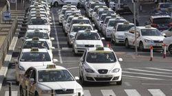Paro de taxis en España contra el