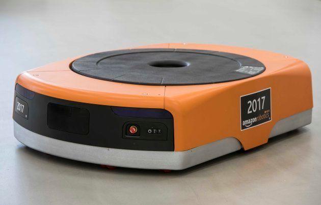 Una de las máquinas de Amazon