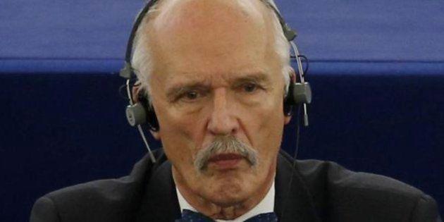 Imagen de archivo del eurodiputado polaco de extrema derecha Janusz