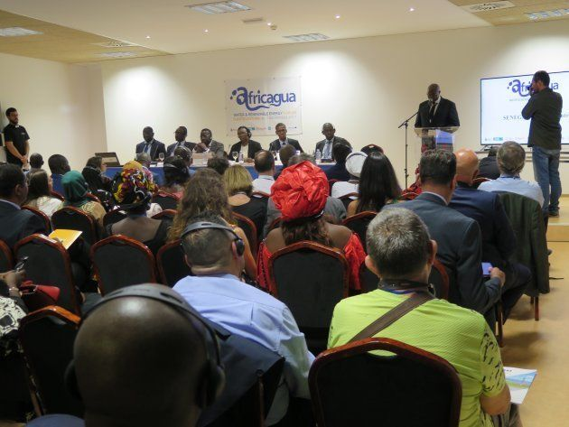 Celebración de las conferencias Africagua 2017 en