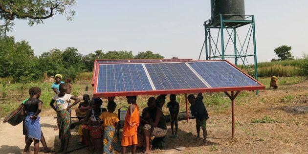 Proyecto de bombeo de agua por energía solar en Senegal, de la ONG Alianza por la