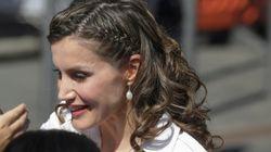 El peinado de Letizia en su visita a Tenerife causa división de