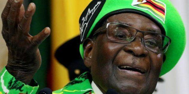 Robert Mugabe, el actual presidente de Zimbabue, en una imagen tomada en Harare el pasado
