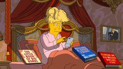 Los Simpson lo dan todo con un vídeo que resume los 100 días de Trump como