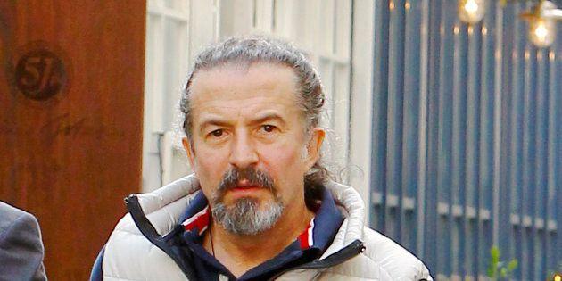 José María Cano en Madrid, en abril de