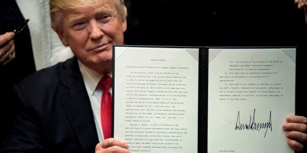 Los primeros 100 días de Trump en la Casa Blanca: ser presidente era