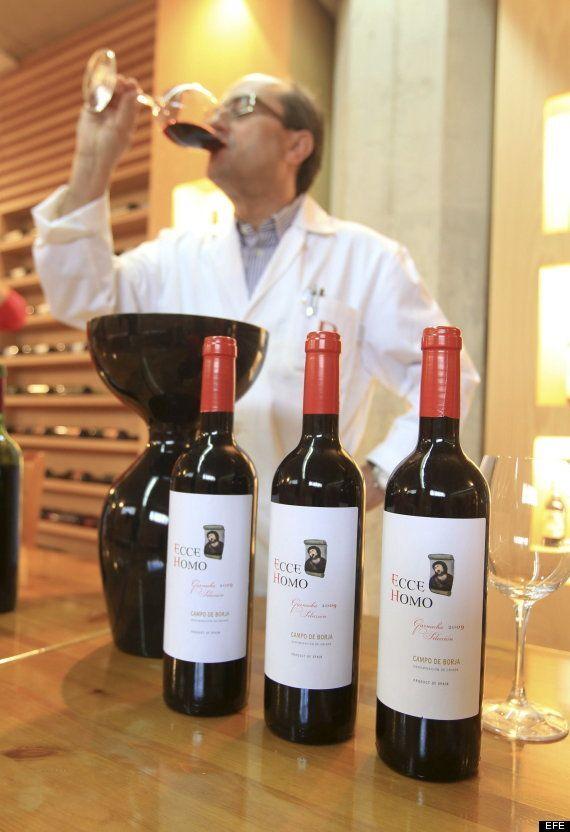 El Ecce Homo se convierte en vino con denominación de origen de Borja
