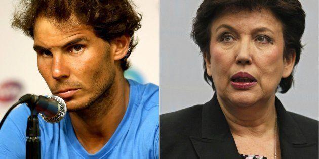 Rafael Nadal y Roselyne