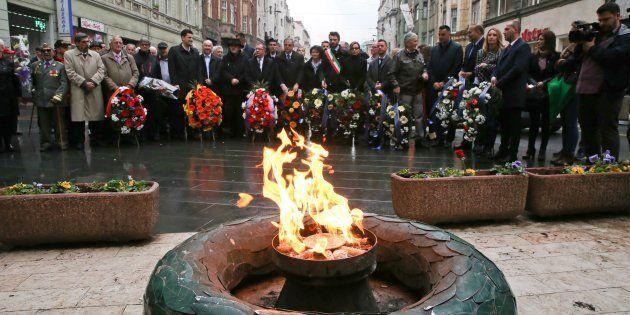 Sarajevo, 6 de abril de 2017. Homenaje a las víctimas de la guerra de los