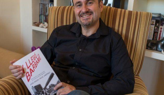 José Ángel Ruiz Jiménez, autor del libro 'Y llegó la barbarie. Nacionalismo y juegos de poder en la destrucción...
