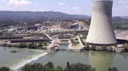 Una fuga de agua obliga a parar el reactor en la central nuclear de