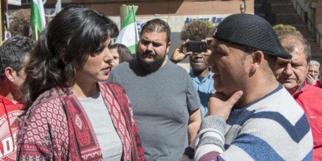 Teresa Rodríguez se acuerda de Andrés Bódalo tras conocer la absolución de la