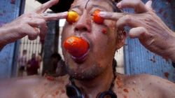 ¡Arg! Otra vez esas imágenes de la Tomatina que no podrás dejar de mirar