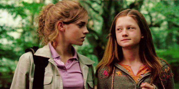 Reencuentro 'Harry Potter': Hermione y Ginny, en la alfombra