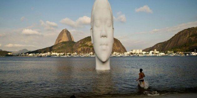 Jaume Plensa: nueva escultura en una playa de Río, en Brasil