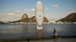 Lo último de Plensa: bañarse bajo el rostro de 12 metros de una