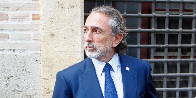 Francisco Correa, a las puertas del TSJV en 2013. REUTERS/Heino
