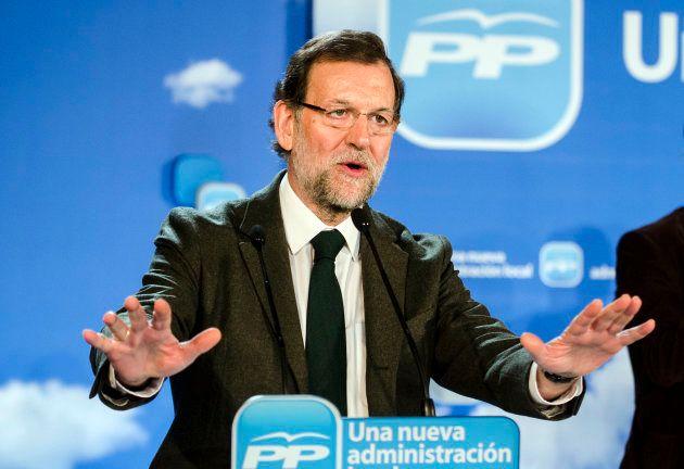 Mariano Rajoy en un acto del
