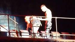 Lady Gaga hace un Bieber y vomita en el escenario en Barcelona