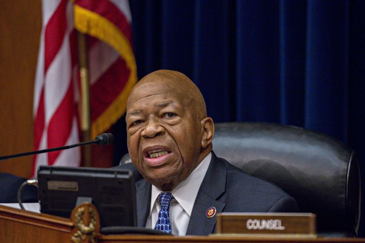 Rep. Elijah Cummings (D-Md.) and other Democrats on the House Committee on Oversight and Reform accused Wilbur Ross of improp