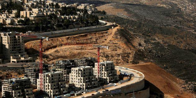 Imagen de archivo del asentamiento de Ramot, en la zona oriental de Jerusalén, donde Palestina quiere...