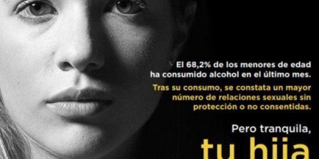 El ministerio de Sanidad retira las imágenes de una campaña que ligaba el consumo de alcohol de las menores...