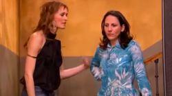 El reencuentro entre Malena Alterio y Laura Pamplona (Belén y Alicia en 'Aquí no hay quien