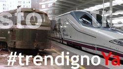Las carencias en la red de tren unen a toda la sociedad extremeña hoy en una marcha en
