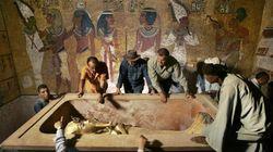 Salen a la luz tesoros de la tumba de Tutankamón encontrados por Howard Carter en