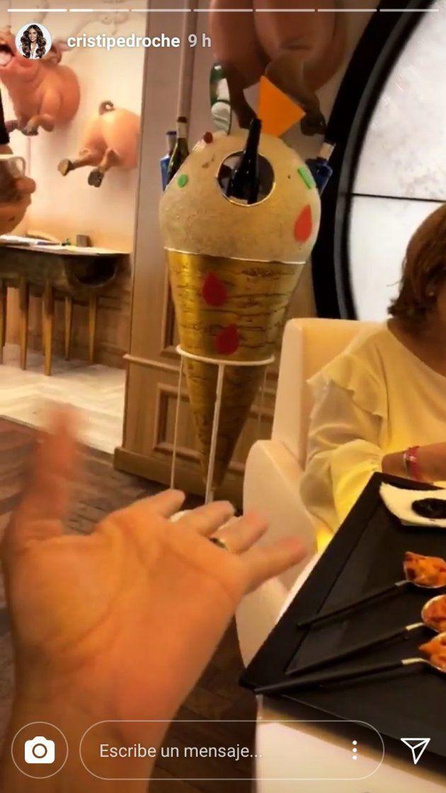 El plato de Dabiz Muñoz que Cristina Pedroche teme que le