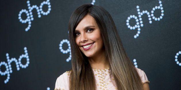 Cristina Pedroche durante la presentación de la marca 'Ghd' en