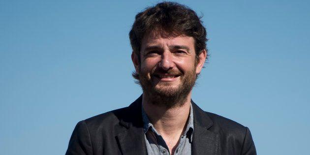 Actor Gorka Otxoa en el photocall de 'Fe de Etarras' durante el festival de cine de San