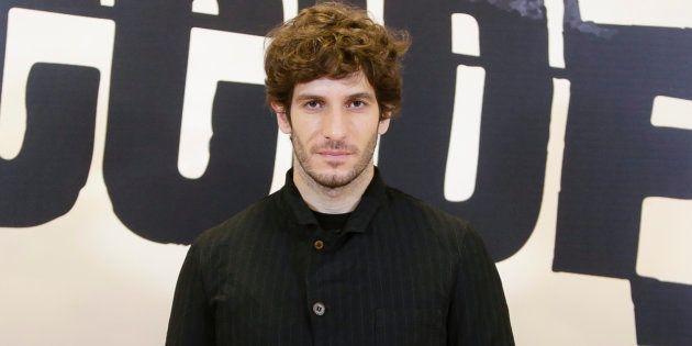 El actor Quim Guitiérrez durante la presentación de la serie 'El