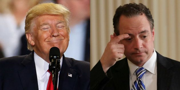 Donald Trump y Reince
