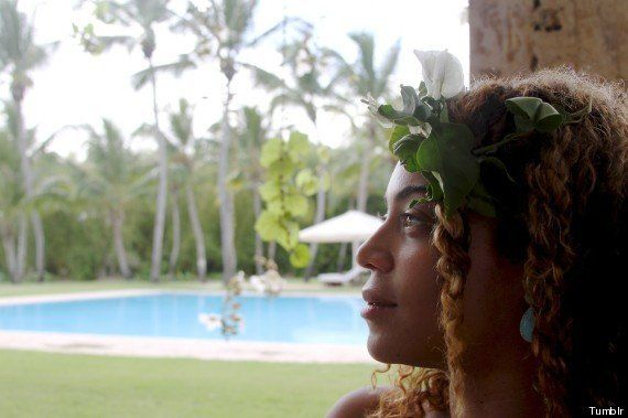 Beyoncé sin maquillaje