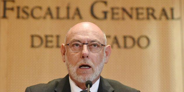 El fiscal general, José Manuel Maza, ingresado de gravedad en Buenos