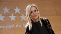 Críticas a Cristina Cifuentes por su mensaje tras la muerte del fiscal
